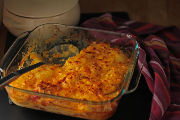 Post image for PIMENTO CHEESE POTATO GRATIN
