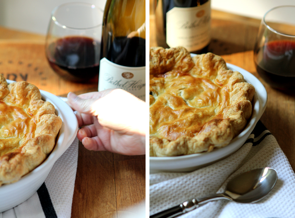 Post image for FULL ON – FALCON CREST AND A BEEF & RED WINE POT PIE