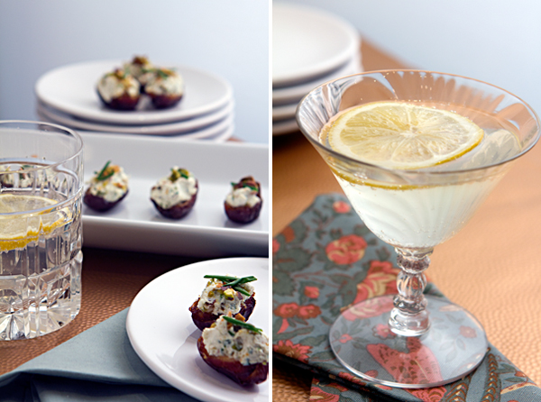 Post image for GOAT CHEESE & PISTACHIO STUFFED DATES