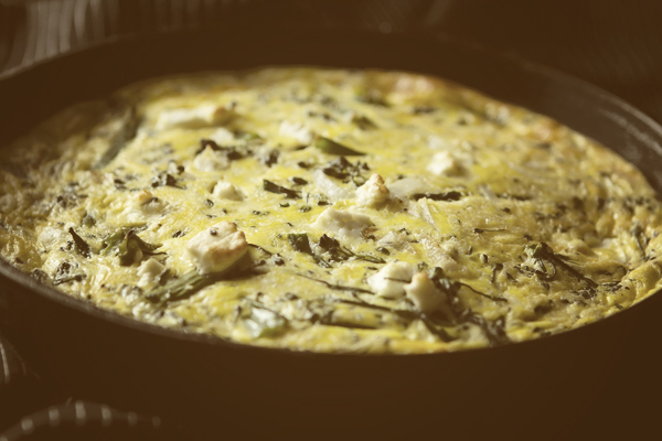 Post image for BROCCOLINI & GOAT CHEESE FRITTATA