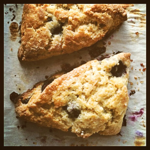 Post image for GLUTEN-FREE BLUEBERRY SCONE