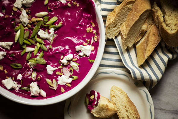Post image for ZA'ATAR-SPICED BEET DIP