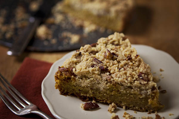 GLUTEN-FREE PUMPKIN BUCKLE WITH SUGARED PECANS | Smith Bites