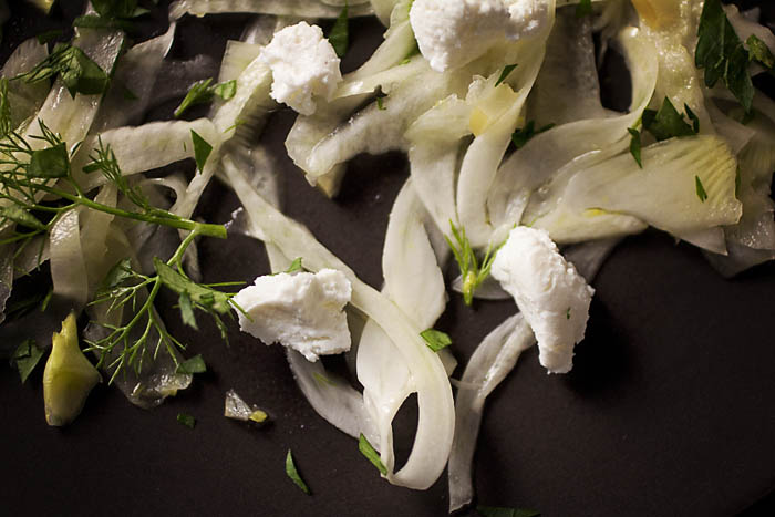 Post image for FENNEL SALAD WITH PRESERVED MEYER LEMONS
