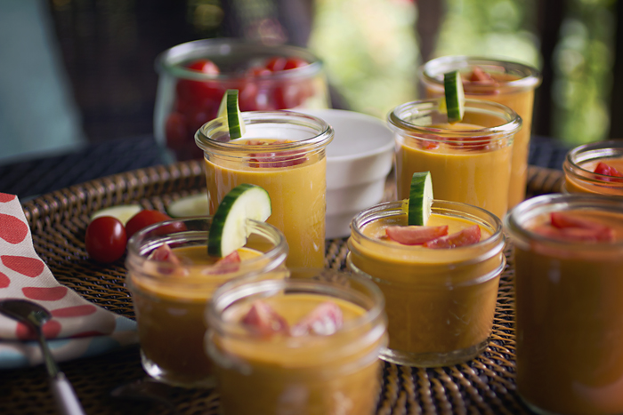 Post image for GLUTEN-FREE SUMMER GAZPACHO