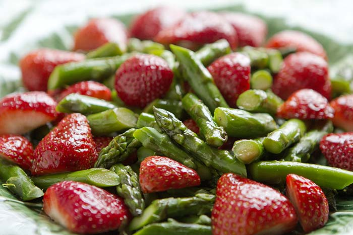 Post image for ASPARAGUS AND STRAWBERRY SALAD and THE B.T.C.