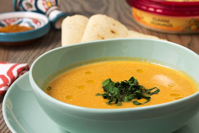 Post image for CREAMY MOROCCAN-STYLE CHICKPEA SOUP WITH WILTED CHARD