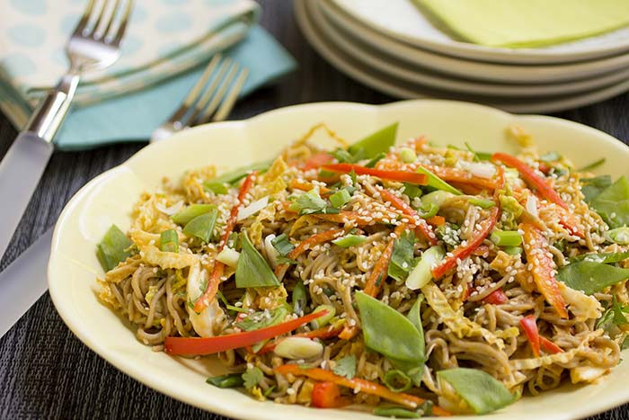 Post image for GLUTEN-FREE THAI-STYLE NOODLE SALAD
