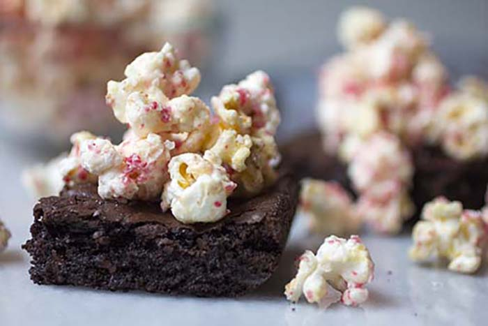Post image for GLUTEN-FREE WHITE CHOCOLATE PEPPERMINT MOCHA BROWNIES
